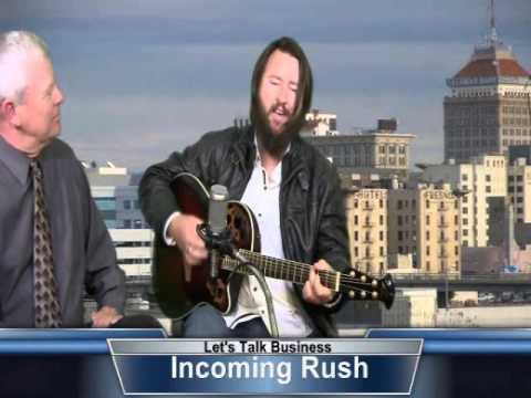 INCOMING RUSH ON MIKE SCOTT TV SHOW