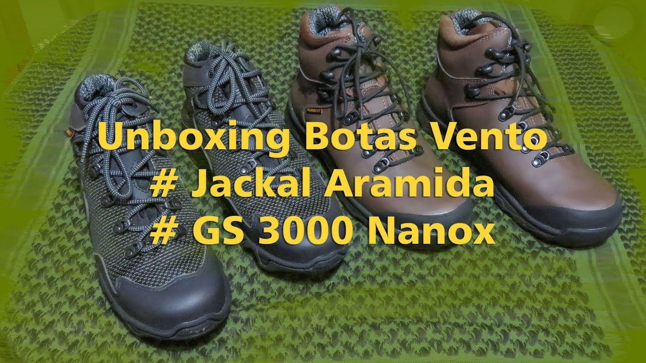 76f0e1d89 Unboxing - Botas Vento - YouTube