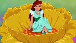 Thumbelina Full Story - Malayalam Princess Fairy Tales - തുമ്പലിനെ - കുട്ടികൾക്ക് ചെറിയ ചെറുകഥകൾ