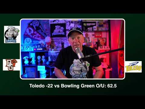 Toledo vs Bowling Green Free College Football Picks and Predictions CFB Tips Wednesday 11/4/20