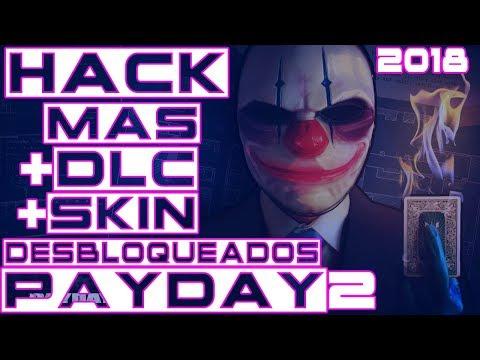 Descargar Hack Payday 2 Steam (ONLINE-OFFLINE) SKIN+DLC DESBLOQUEADOS [2018]
