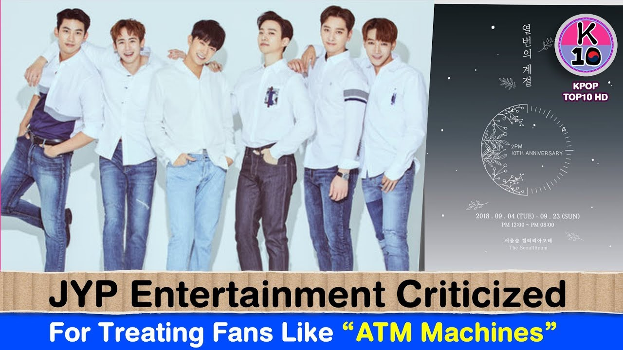 "JYP Entertainment Criticized For Treating Fans Like ""ATM Machines"""