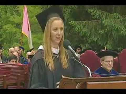 Lisa Kudrow Commencement Address, 2010, Vassar College