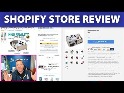 Shopify Store Review ⚖️ Does This Drop Shipping Store Have a Chance??? thumbnail
