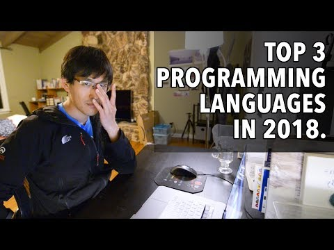 Top 3 Programming Languages in 2018. (with my thoughts on each)