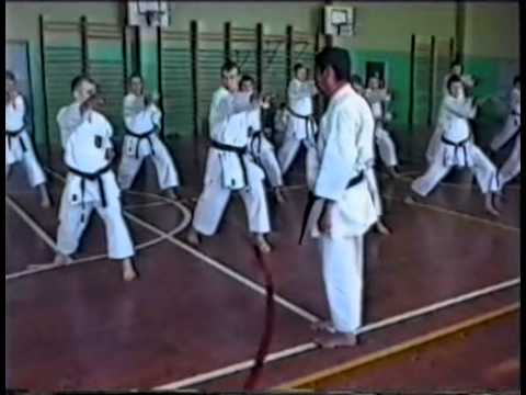 """Shotokan Kata """"Suishu"""" Sadashige Kato sensei"""