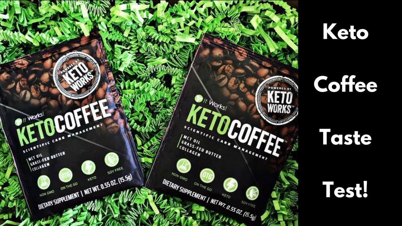 It Works Keto Coffee Taste Test