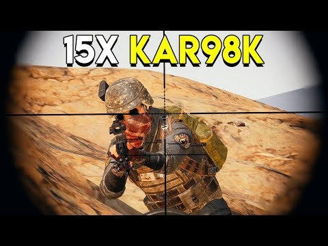15X KAR98K - PlayerUnknown's Battlegrounds (PUBG)