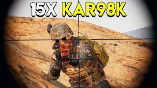 15X KAR98K - PlayerUnknown\'s Battlegrounds (PUBG)