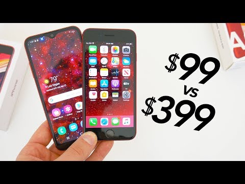 Apple's Cheapest IPhone Vs. Samsung's Cheapest Phone