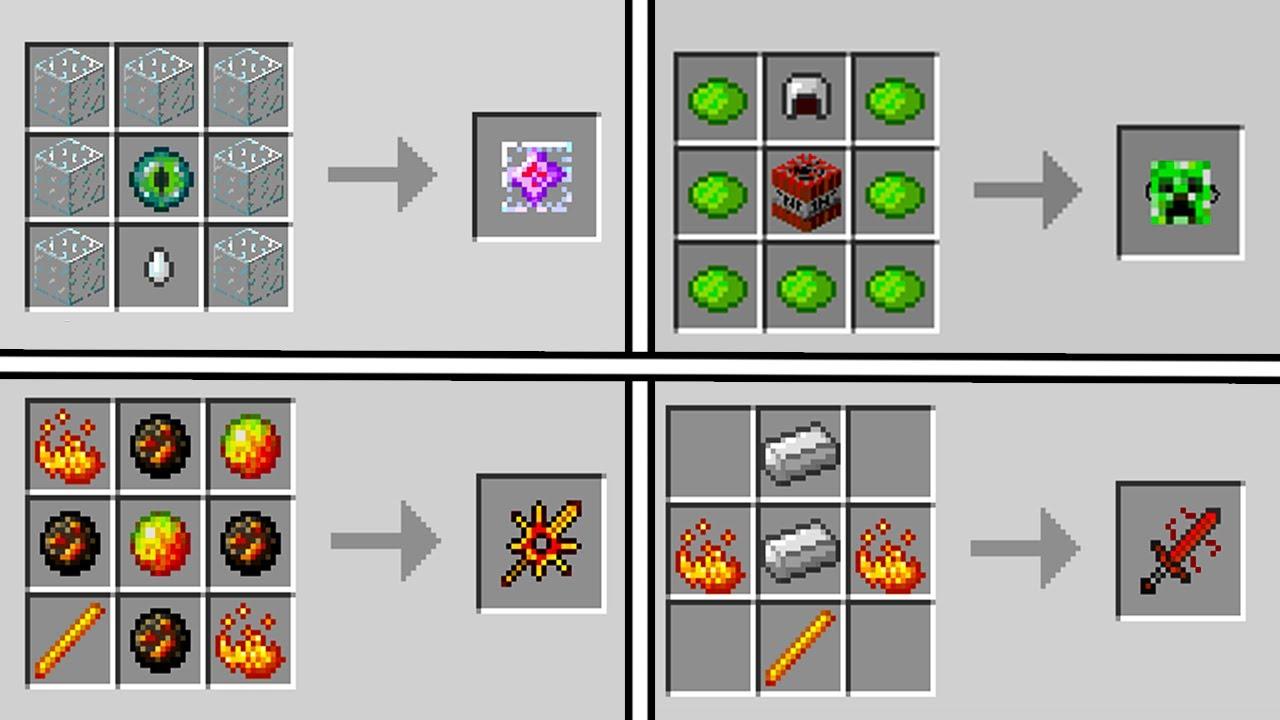 Minecraft Crafting Recipes