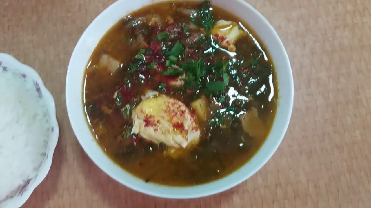 Вкуснейший Корейский Суп (Пуктяй)