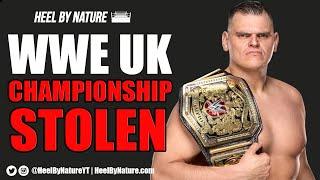 BREAKING NEWS: WWE United Kingdom Championship Stolen