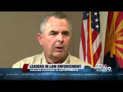Pima County Sheriff and Tucson Police Chief discuss immigration, police accountability and synergy