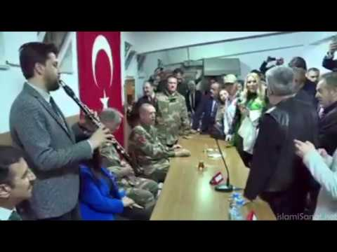 Erdoğan ve Sanatçılar Kışla Ziyareti: VATANINA GÖZ DİKENİ EZ OĞLUM-Esat KABAKLI/Klarnet:Serkan ÇAĞRI