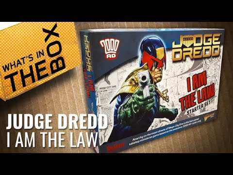Unboxing Judge Dredd: I Am The Law
