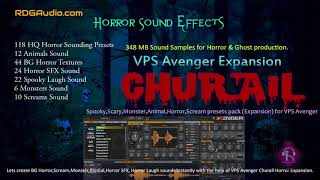 Curail Horror VPS Aveneger Expansion 118 Horror Sounding Presets Download RDGAudio
