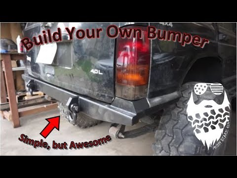Simple! Build Your Own Rear Bumper Jeep Cherokee XJ