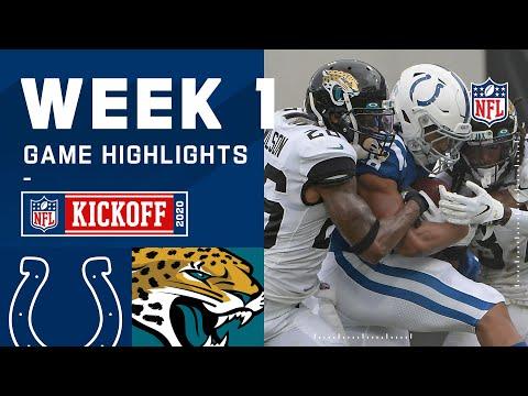 Colts vs. Jaguars Week 1 Highlights | NFL 2020