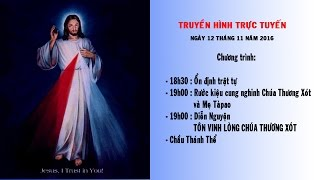Đức Mẹ Tàpao - Đêm diễn nguyện Tôn vinh Lòng Chúa Thương Xót