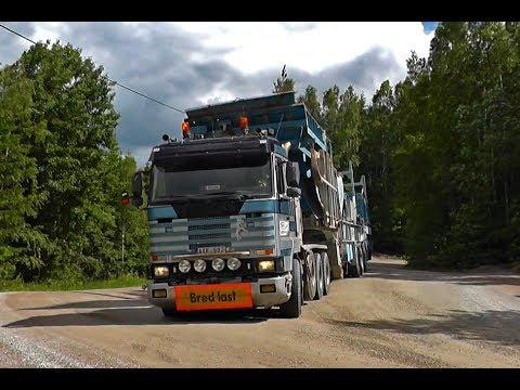 Scania R143E 500 \8/ Sound With Wide Load - NSM AB