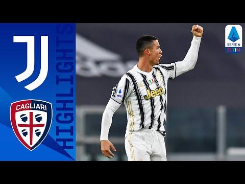 Juventus 2-0 Cagliari | Decide Ronaldo  con una doppietta | Serie A TIM