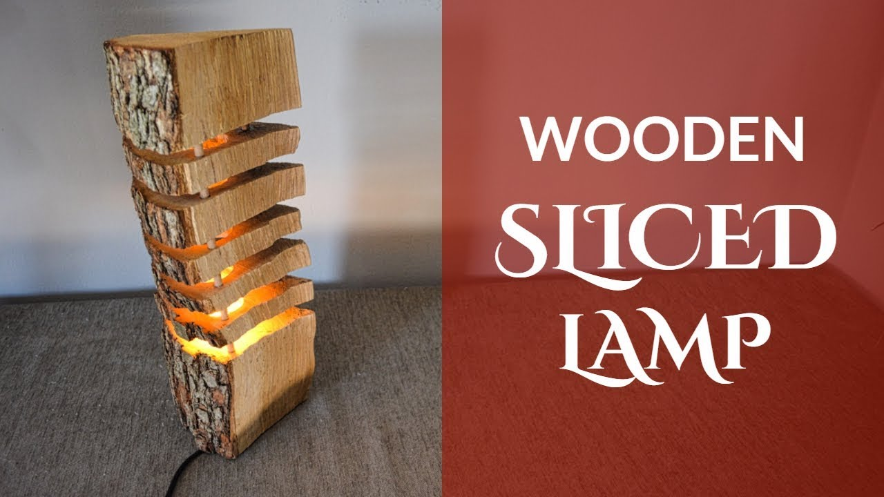 Wooden Sliced Lamp (English Subtitles) - YouTube