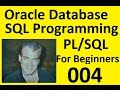 Part IV Oracle 11g Database SQL Programming with PL/SQL in 2016 Using the Query Builder