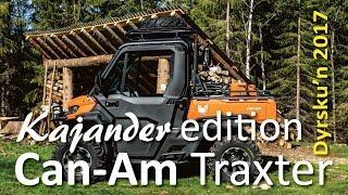 Can-Am Traxter Kajander edition, Dyrskun 2017 |Kajander Motor|