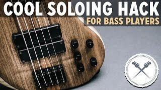 Cool Soloing Hack for Bass Players (The Blues) /// Scott
