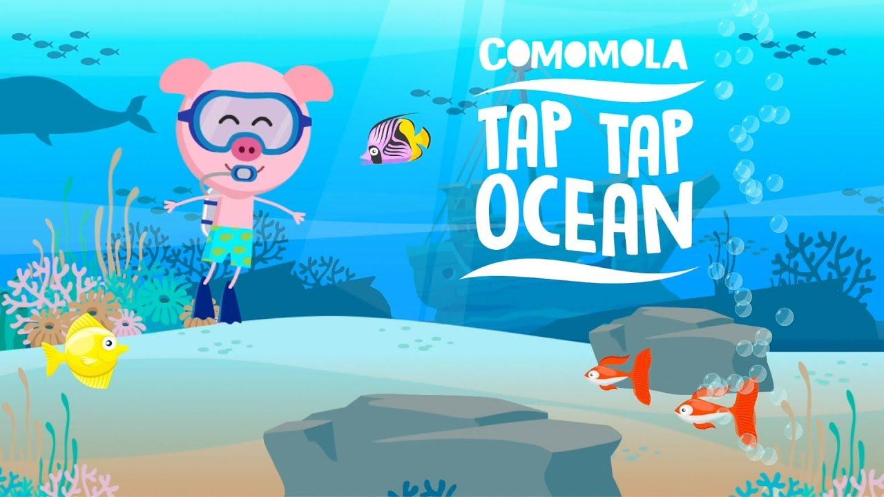 Comomola Tap Tap Ocean - Fun fish game for kids