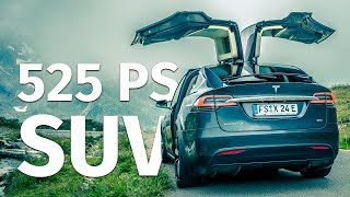 MIT 525 PS DURCH DIE SCHWEIZER ALPEN | Tesla Model X