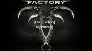 Watch Fear Factory Designing The Enemy video