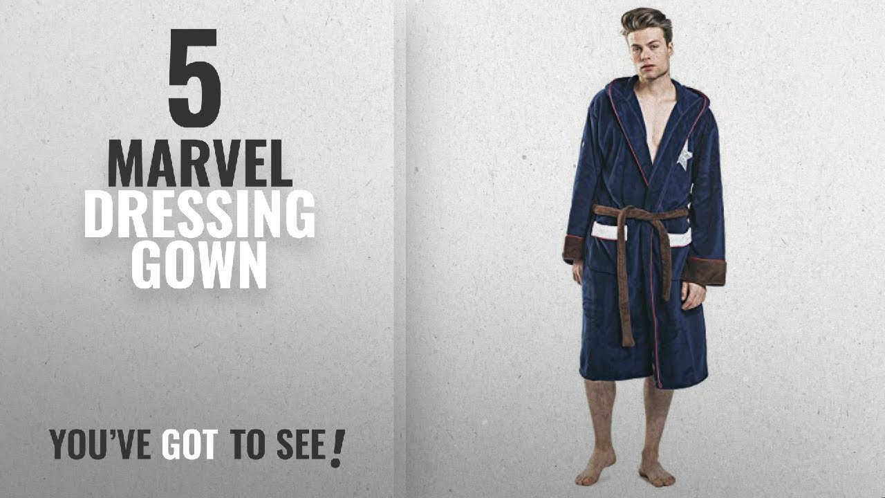 Top 10 Marvel Dressing Gown  2018   Adults Groovy Official Marvel Captain  America Civil War fa594536b