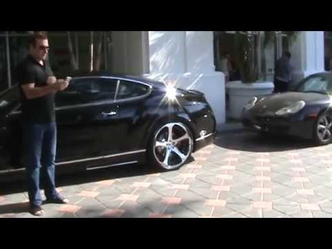 Bentley Continental MANSORY GT63 In Miami Beach  With REAL DIAMONDS!!!!!