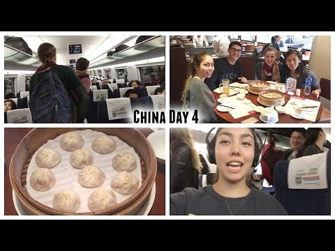 China Day 4: ShangHAI to Beijing!!, Din Tai Fung dumplings, and train ride to Beijing