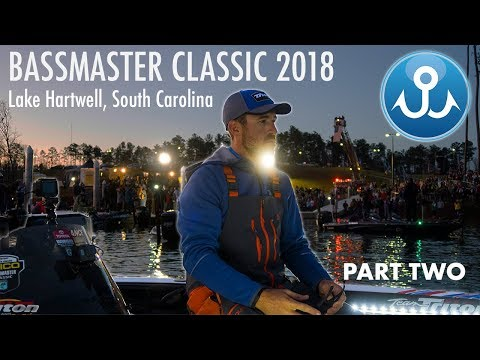 Bassmaster Classic 2018 Lake Hartwell : PART TWO | WheelerFishing Episode 5
