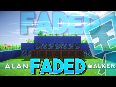 Alan Walker - Faded Minecraft Wireless Noteblock Song