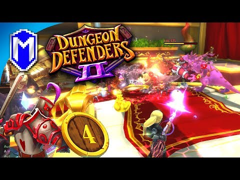 Playing As The Gunwitch, Pure DPS Sniper Build - Let's Play Dungeon Defenders 2 Gameplay Ep 4