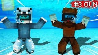 SUYUN ALTINDAN EN SON ÇIKAN KAZANIR! 😱 Minecraft
