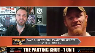 "Titan FC 37's Dave Burrow ""I'm trying to get more knockouts on my record"""