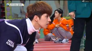 [CUT] BTS 400m Relay Finals on 2016 ISAC Lunar New Year Special, 160210.