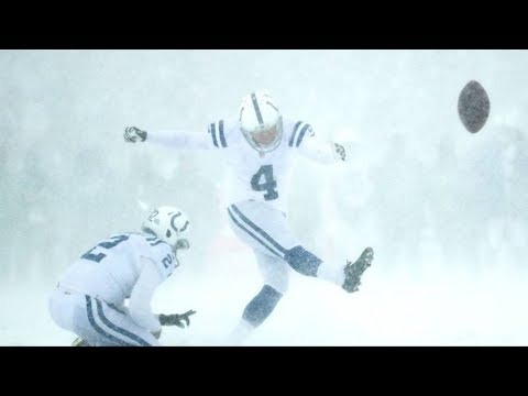 NFL Field Goals/Extra Points Made In The Snow