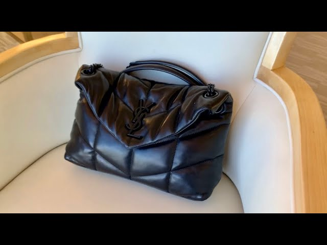 What's In My Bag (Travel Edition) | YSL Loulou Small Puffer Bag