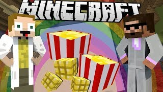 [GEJMR] Minecraft - BuildBattle - Popcorn 🍿 a Duha 🌈