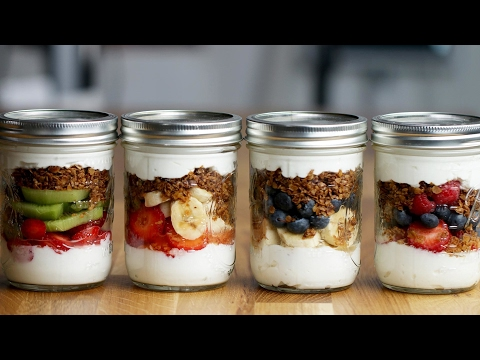 Fruit 'N' Yogurt Parfait Family Meal-Prep