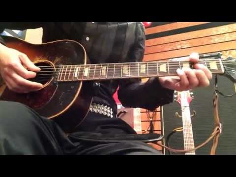 The Beatles-Any Time At All-Rhythm Guitar-GIBSON J-160E