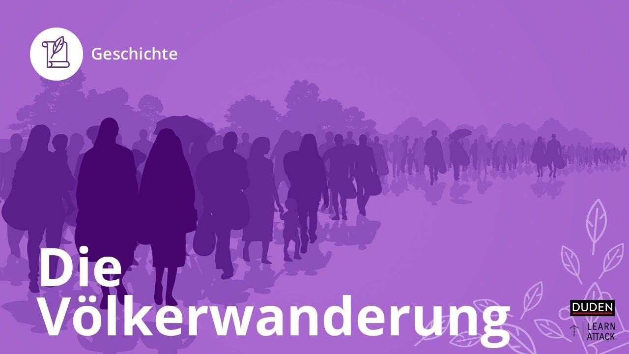 Germanische Stämme Karte.Die Völkerwanderung Das Musst Du Wissen Geschichte Duden Learnattack