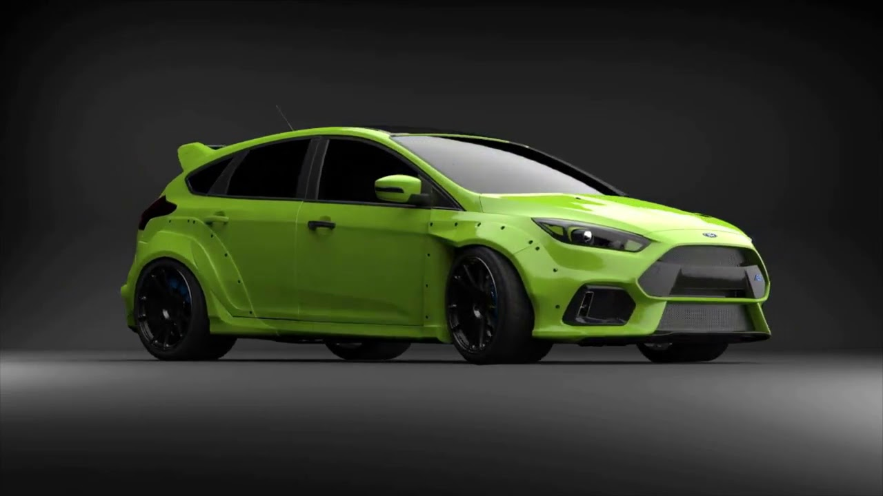 Wide Arch Kit Mk3 Focus Rs