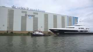 Lürssen Superyacht Podium relaunched at Feadship after refit